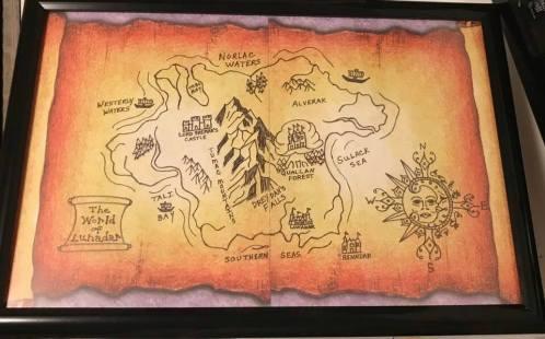 Lunadar map