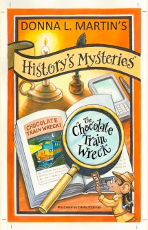 HM The Chocolate Train Wreck front cover
