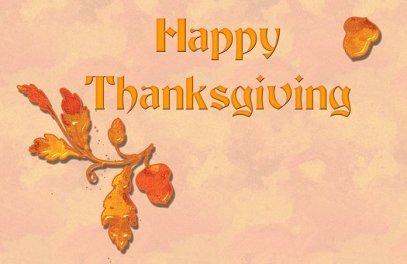 Thanksgiing 1