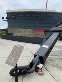 Amelia Titanic anchor 1